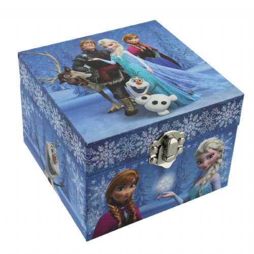 Frozen Jewellery Box All Characters musical by Disney
